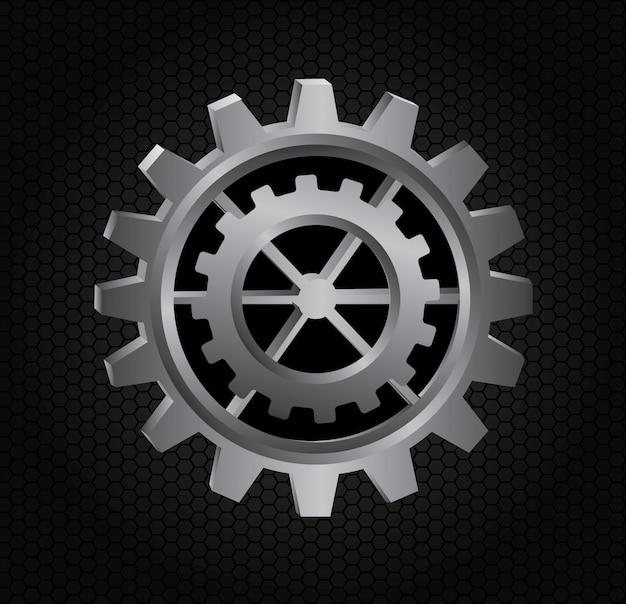 Gears Gratis Vector
