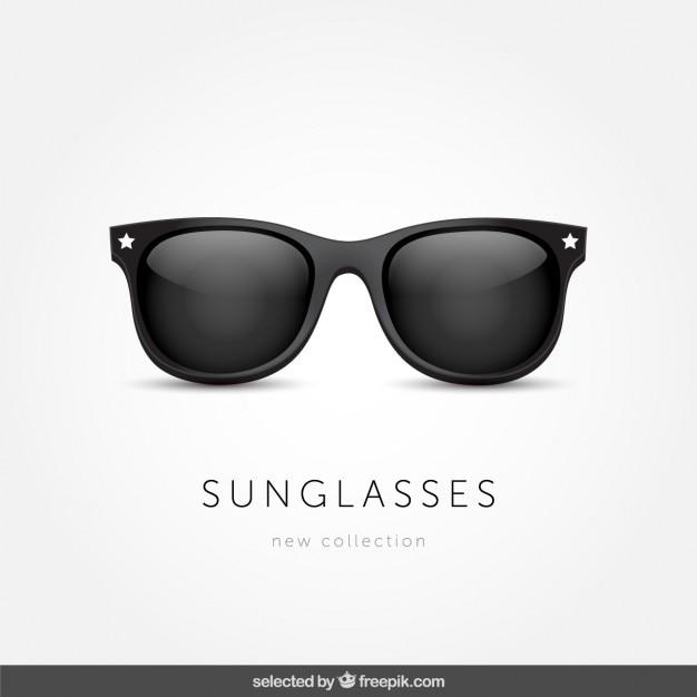 Geïsoleerd zonnebril Gratis Vector