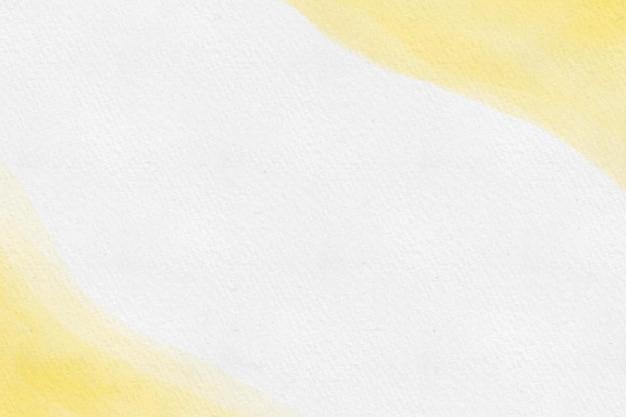 Gele en witte aquarel achtergrond Gratis Vector