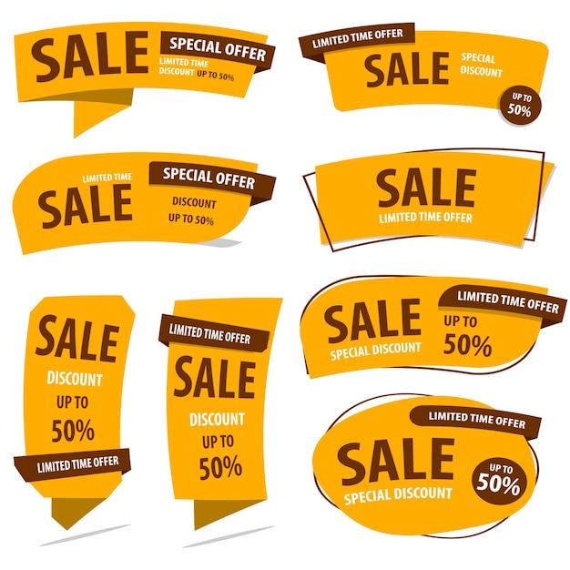 Gelukkig chinees nieuwjaar banner sale Premium Vector