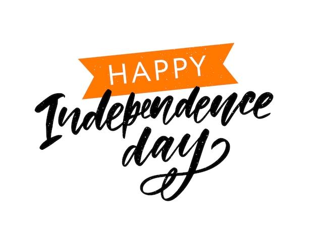 Gelukkige onafhankelijkheidsdag india, vector Premium Vector