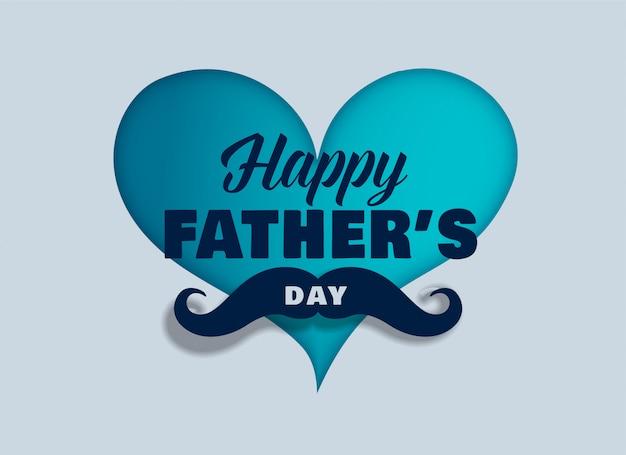Gelukkige vaders dag achtergrond Gratis Vector