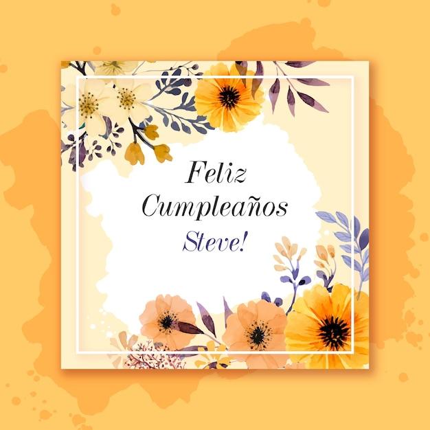 Gelukkige verjaardag verjaardagskaart Gratis Vector