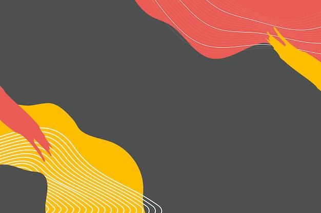 Gemengde kleurenachtergrond Gratis Vector