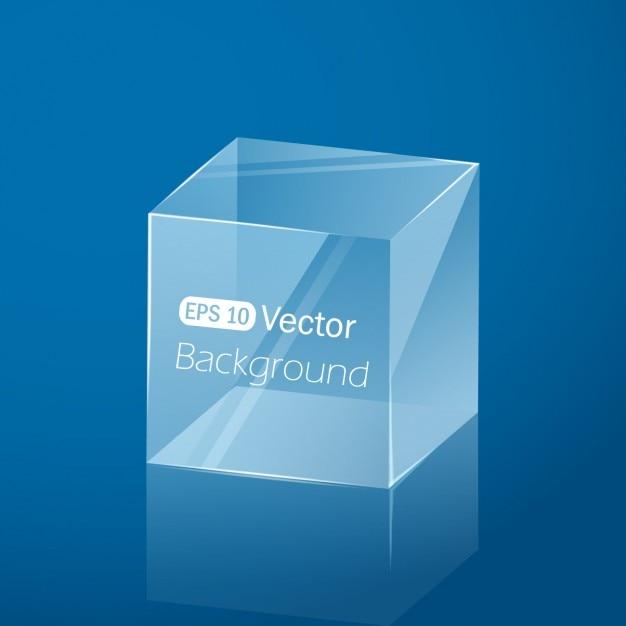 Geometrisch kubus ontwerp Gratis Vector