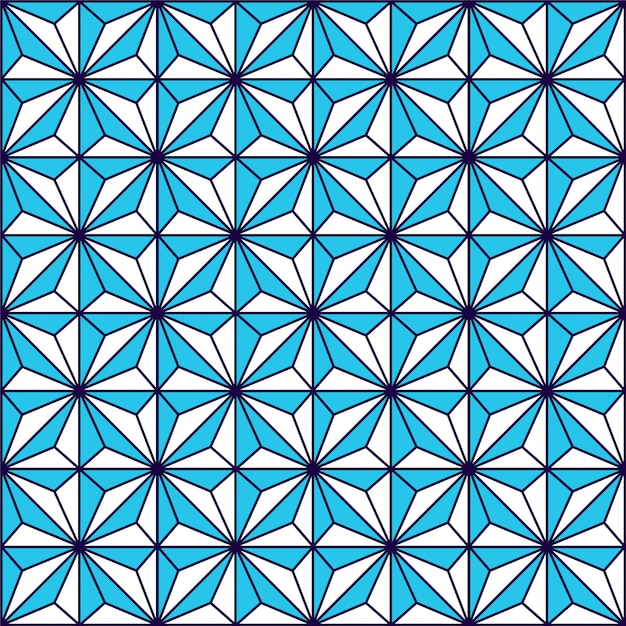 Geometrisch lineair patroon. vector. Premium Vector