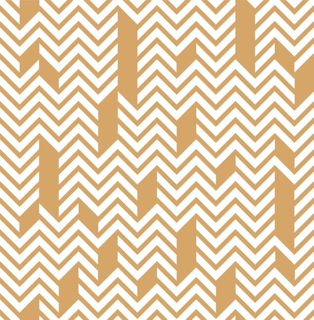 Geometrisch lineair patroon Premium Vector