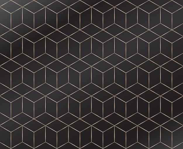 Geometrisch naadloos patroon Premium Vector