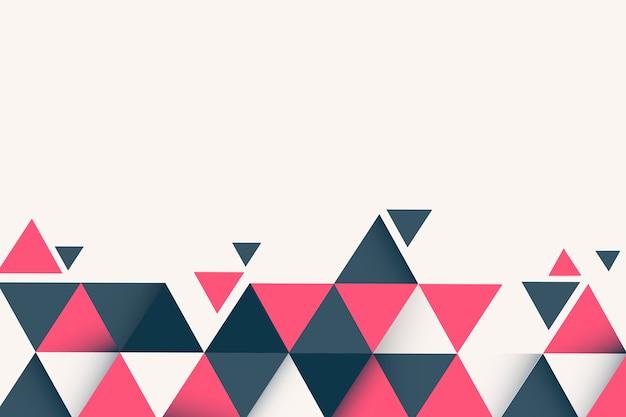 Geometrische abstracte achtergrond Gratis Vector