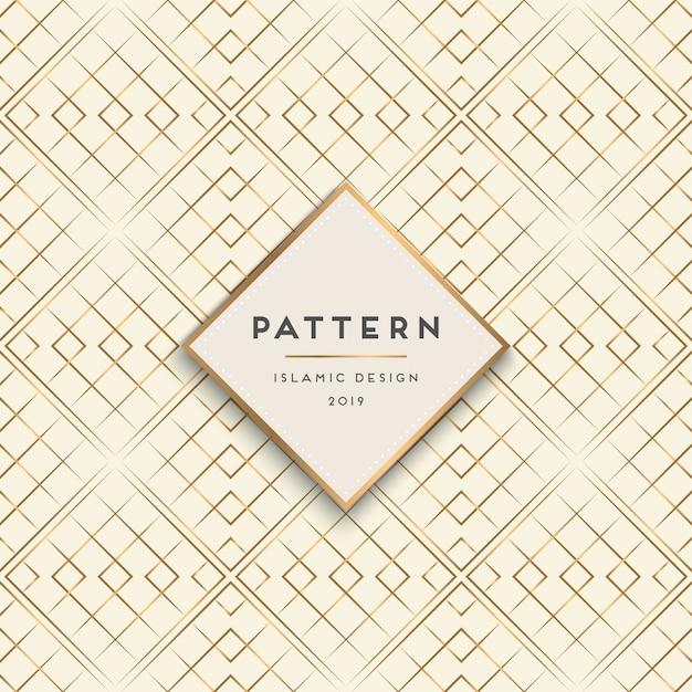 Geometrische naadloze patroonachtergrond Gratis Vector