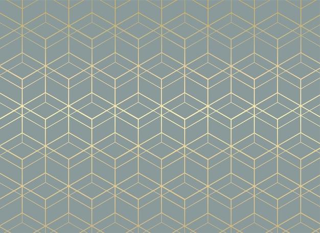 Geometrische naadloze patroonachtergrond Premium Vector