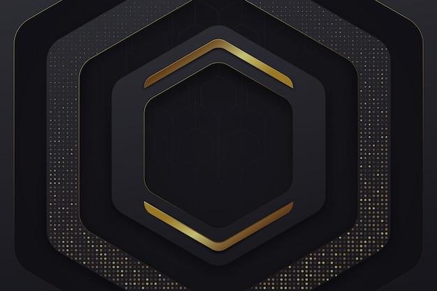 Geometrische vormen behang Premium Vector