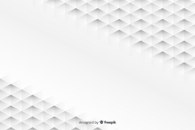 Geometrische vormenachtergrond in document stijl Gratis Vector