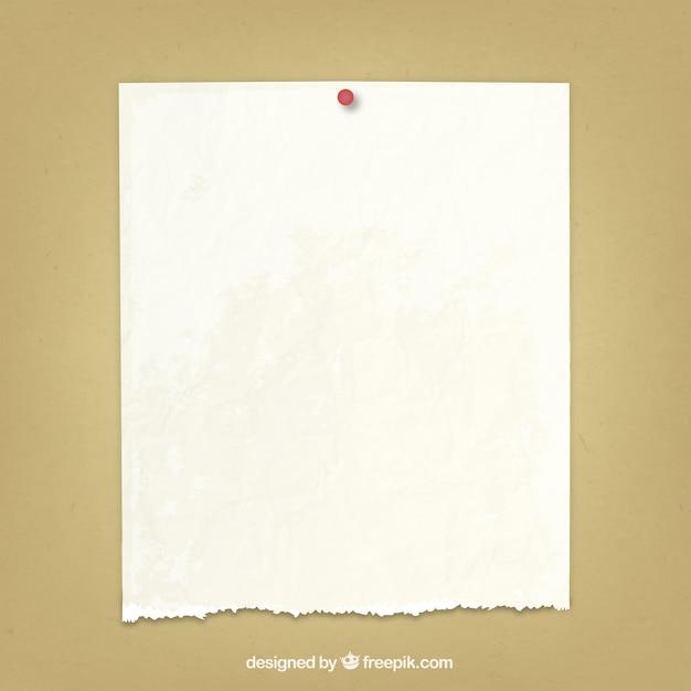 Gescheurd papier Premium Vector