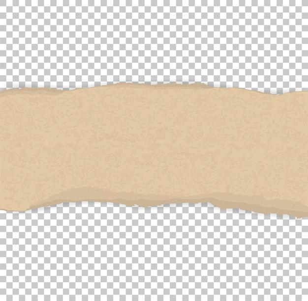 Gescheurde papierranden voor achtergrond Premium Vector