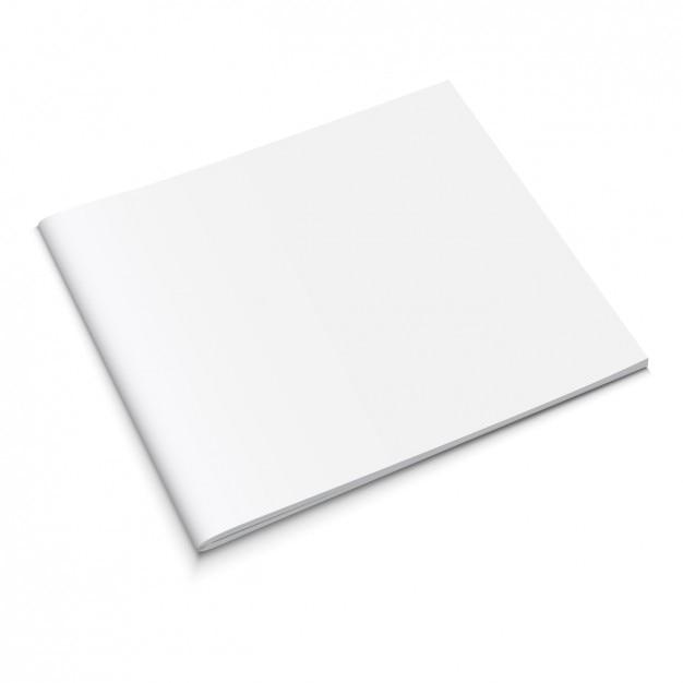 Book Cover White Xanax ~ Gesloten boek mock up vector gratis download