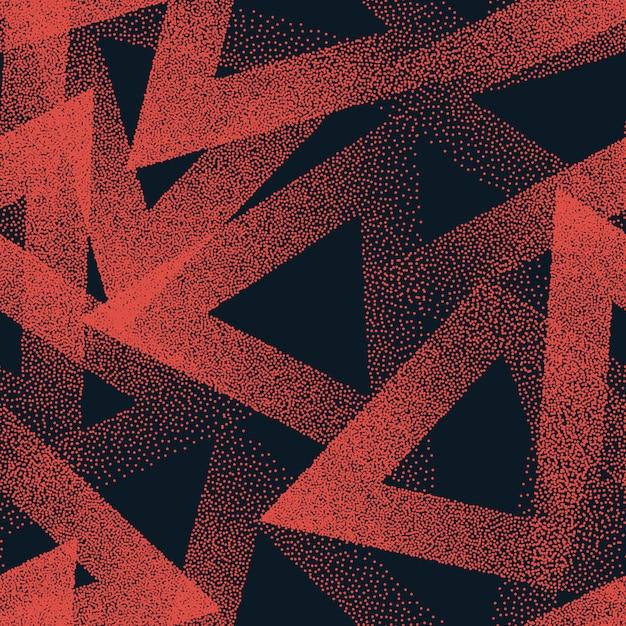 Gestippelde naadloze patroon abstract Premium Vector