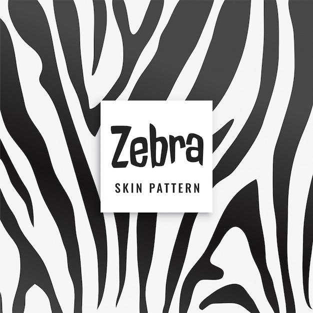 Gestreept printpatroon in zwart en wit Gratis Vector