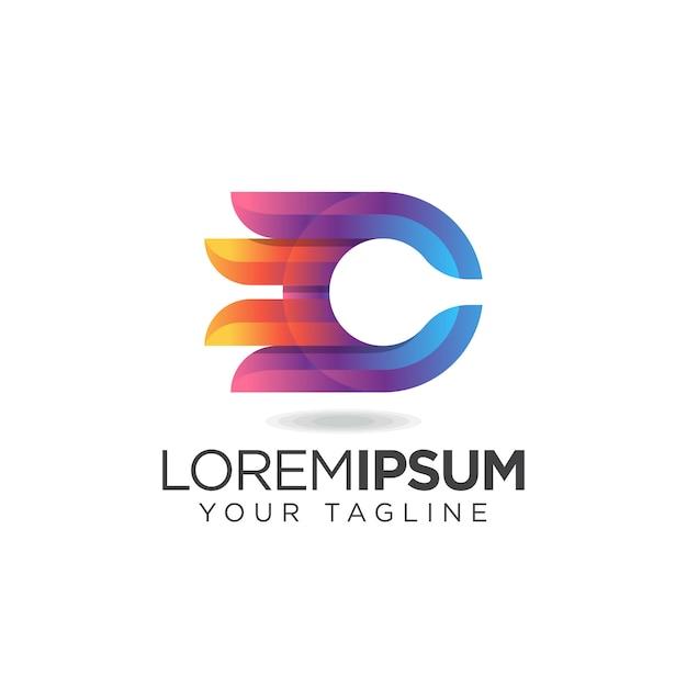 Geweldig letter c logo Premium Vector
