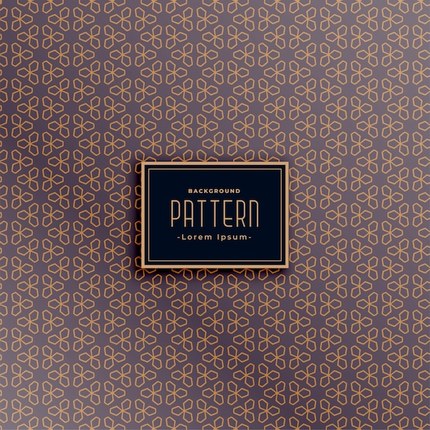 Geweldige stof textuur patroon ontwerp Gratis Vector