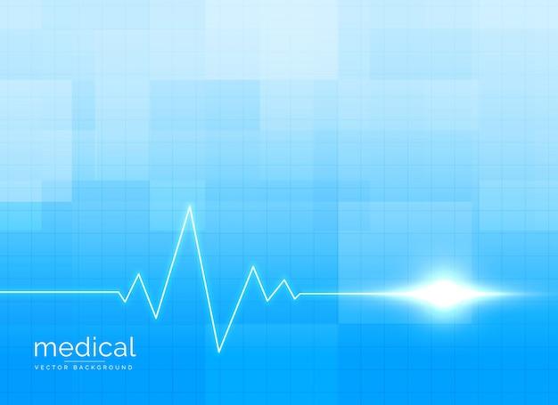 Gezondheidszorg en medische achtergrondconceptenvector Gratis Vector