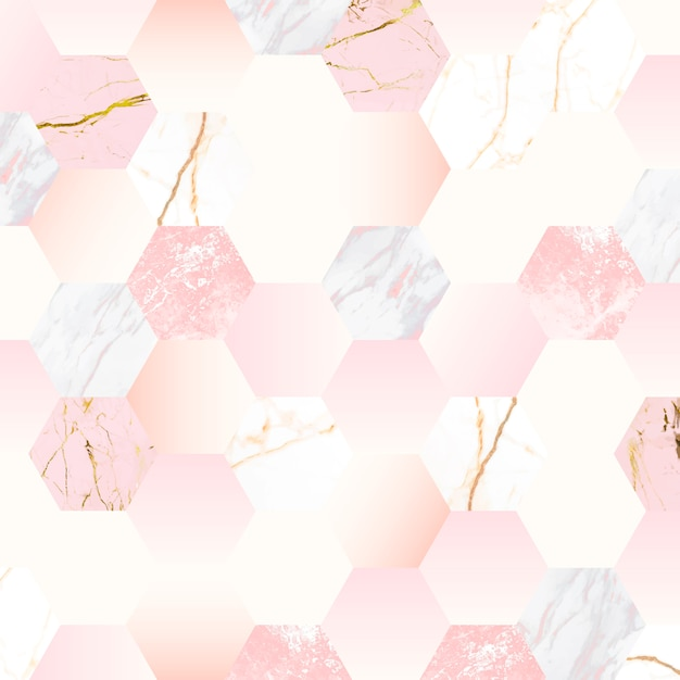 Girly roze achtergrond Gratis Vector