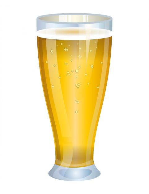 Glas bier Gratis Vector