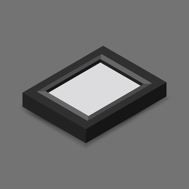 Glazen frame Gratis Vector