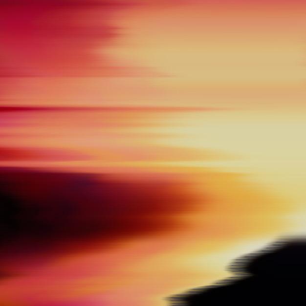 Glitch achtergrond. vervorming van digitale beeldgegevens. kleurrijke abstracte achtergrond voor uw ontwerpen. chaos-esthetiek van signaalfouten. digitaal verval. Gratis Vector