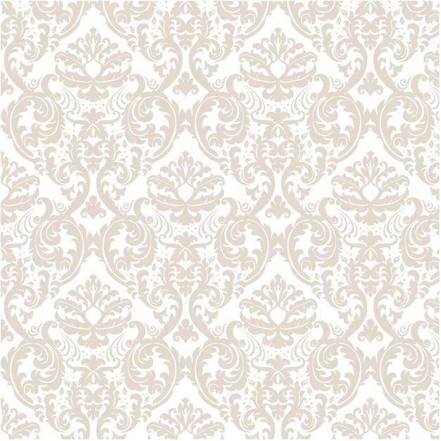 Golden sier patroon achtergrond Gratis Vector