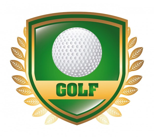 Golf Premium Vector