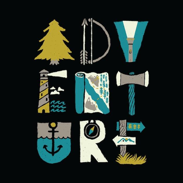 Good vibes typografie grafische illustratie vector kunst t-shirt design Premium Vector