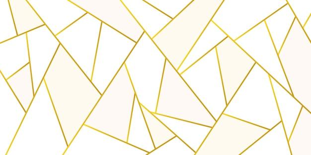 Goud metallic veelhoekige textuur Gratis Vector
