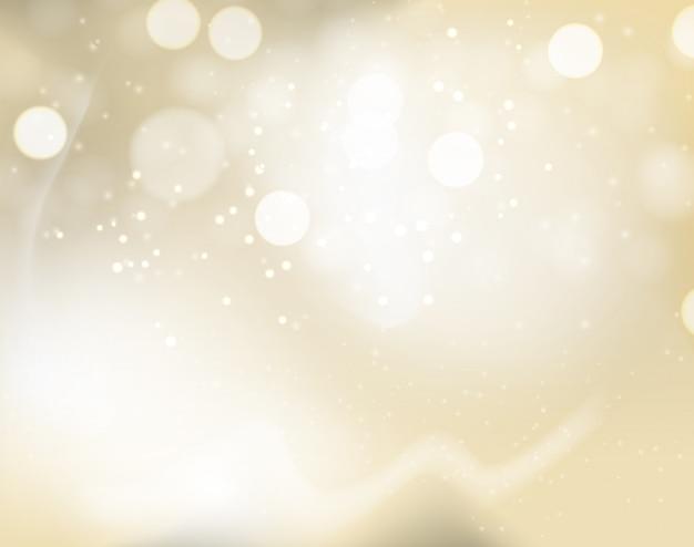 Gouden abstracte kunst achtergrond Premium Vector