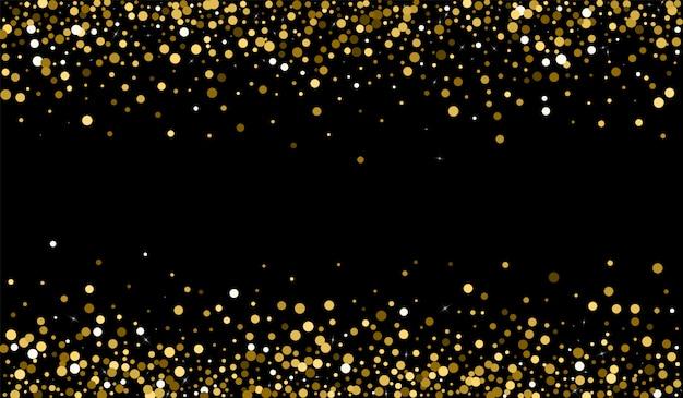 Gouden gestippelde achtergrond Premium Vector