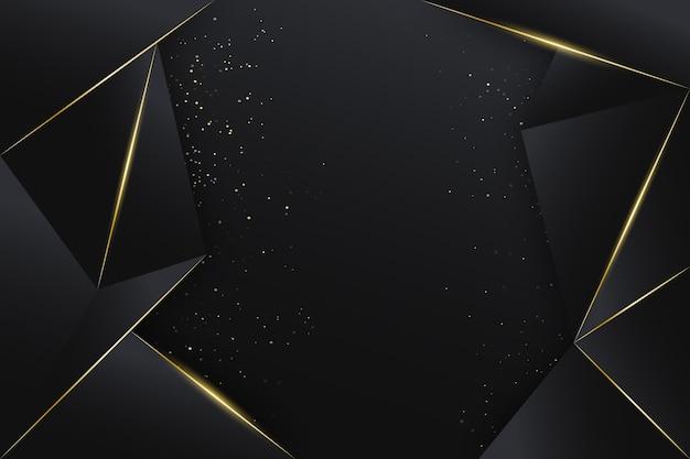 Gouden luxe achtergrond Gratis Vector
