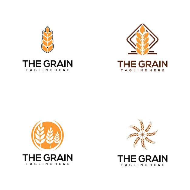 Graan-logo Premium Vector