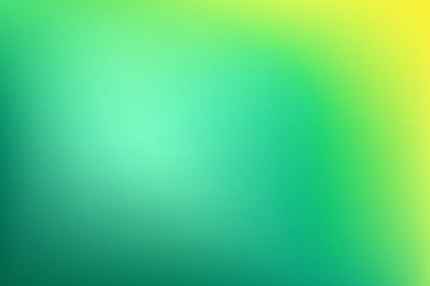 Gradient behang in groene tinten Gratis Vector