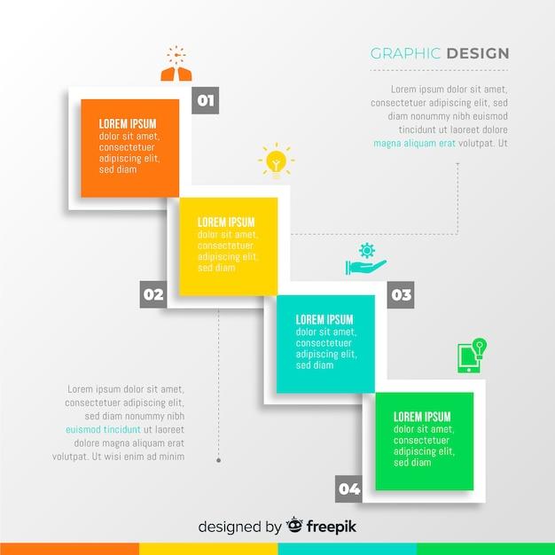 Grafisch ontwerp creatief proces Gratis Vector
