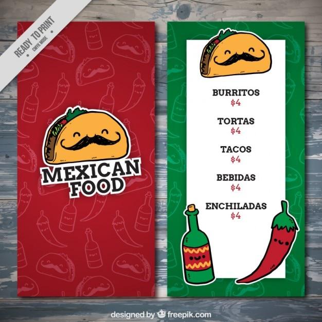 Border Mexican Restaurant Menu