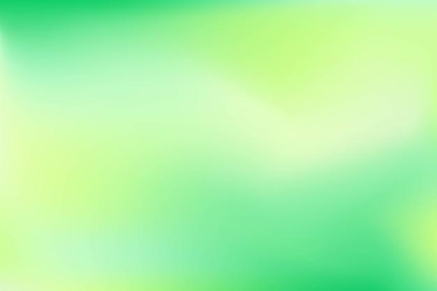 Gras groen kleurverloop tonen achtergrond Premium Vector