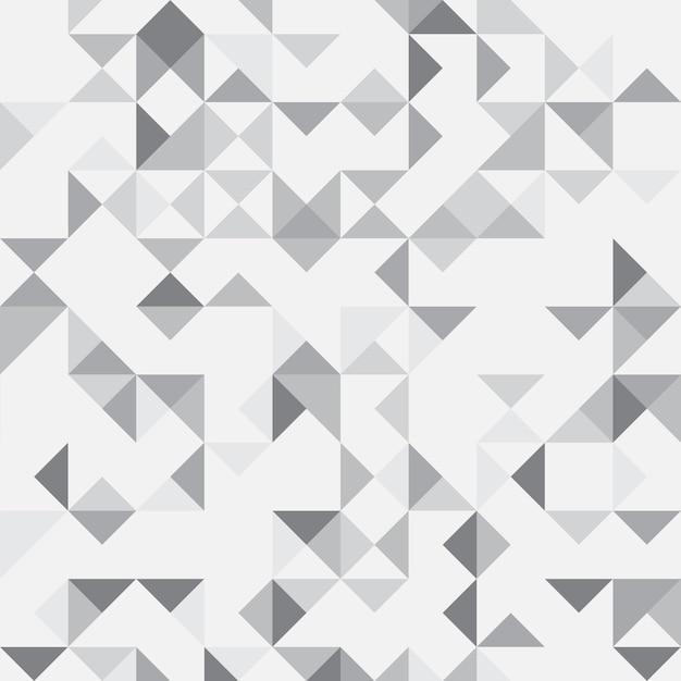 Grijze abstracte geometrische achtergrond Gratis Vector