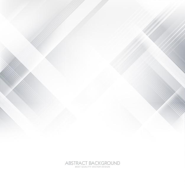 Grijze en witte gradiënt abstracte achtergrond Gratis Vector