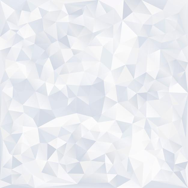 Grijze en witte kristal gestructureerde achtergrond Gratis Vector