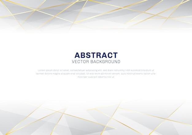 Grijze koptekstachtergrond Premium Vector