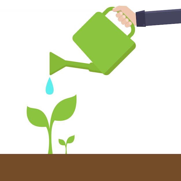 Groen milieuconcept Premium Vector