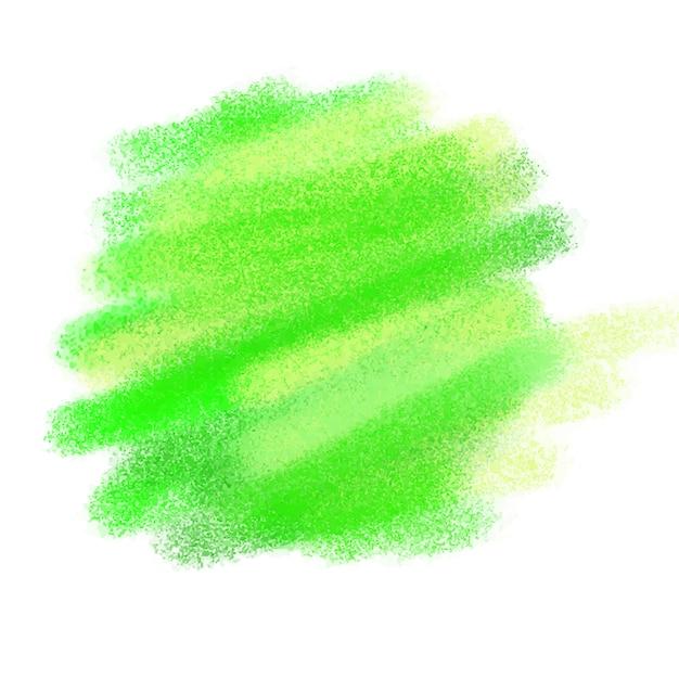 Groene aquarel textuur Gratis Vector