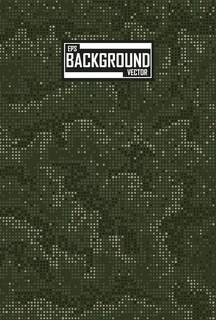 Groene camouflage achtergrond Gratis Vector