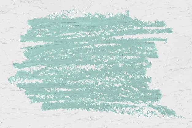 Groene penseelstreek textuur Gratis Vector