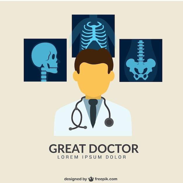 Grote arts Gratis Vector